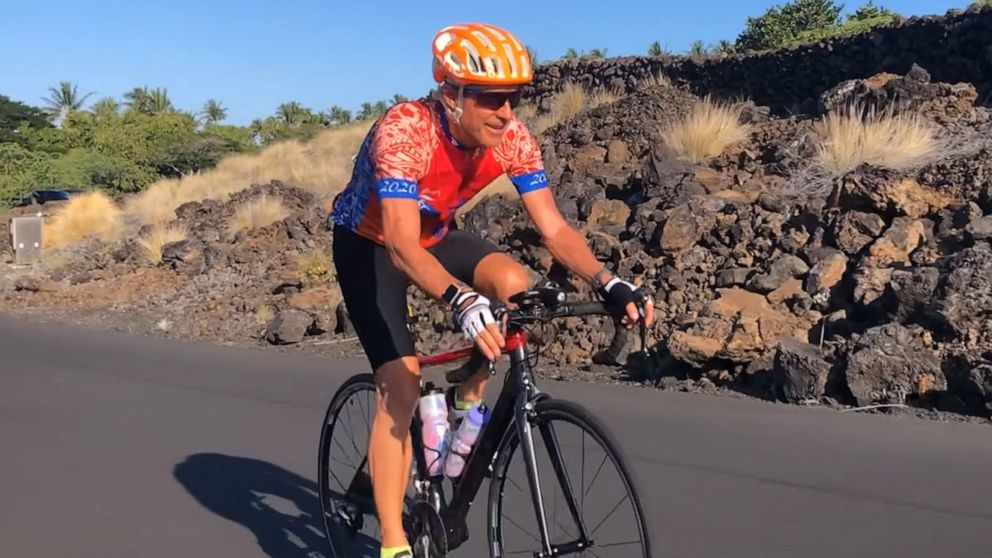 Stage 4 cancer hasn't stopped this man from training for Ironman triathlon