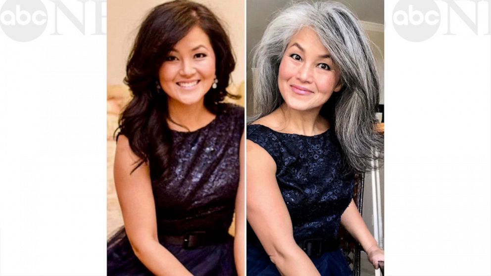 This 'silver sister' is encouraging women to ditch the hair dye and embrace gray hair