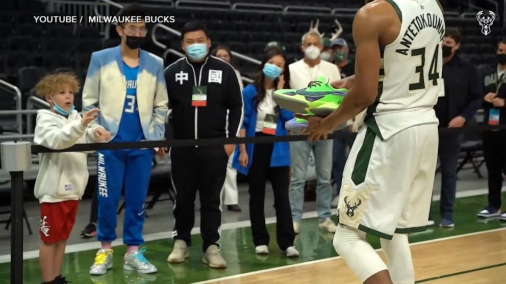 NBA player makes boy's birthday wish come true