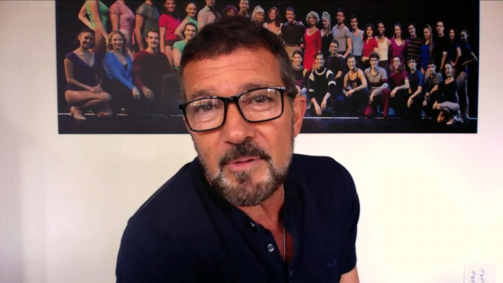 Antonio Banderas talks about 'The Hitman's Wife's Bodyguard'