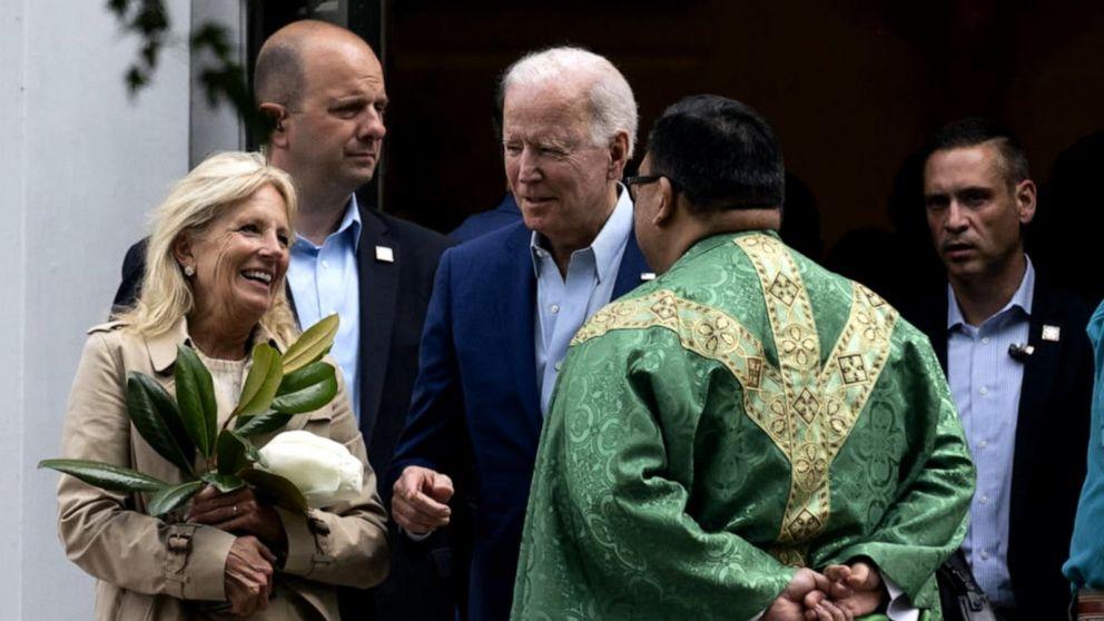 President Biden under fire from the Catholic Church