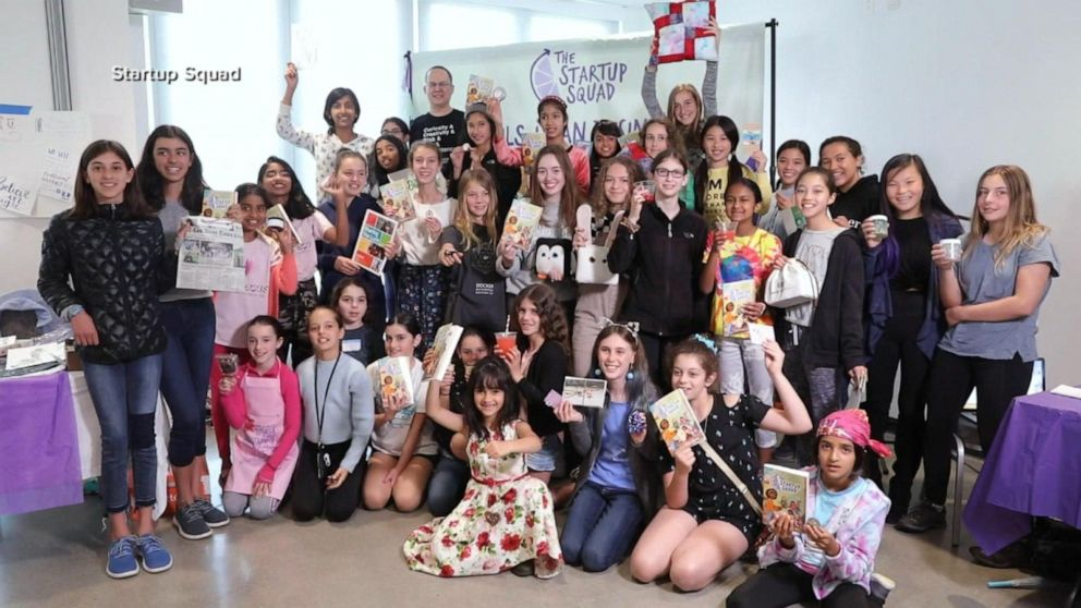 Inspiring young girls to join the 'Startup Squad'