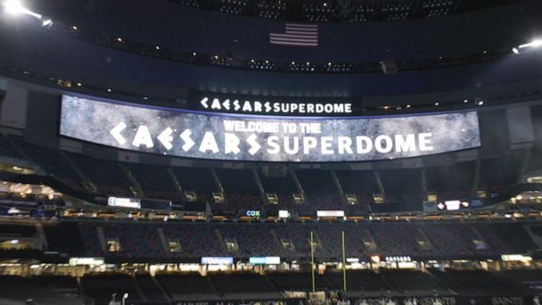 Video New Orleans Superdome gets new look