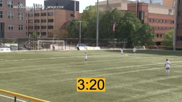 Video Soccer goal sets new NCAA women's record