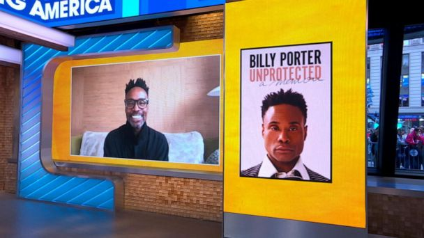 Video Billy Porter talks new memoir, 'Unprotected'