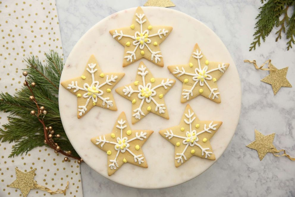 25 Days Of Cookies Melania Trump S Star Sugar Cookies Abc News