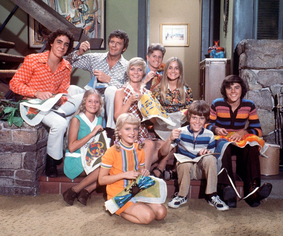 PHOTO: A scene from The Brady Bunch.