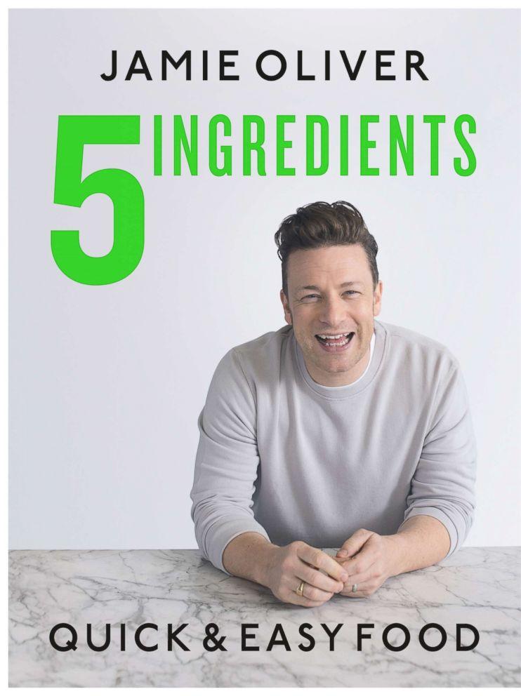 PHOTO: Jamie Olivers new cookbook 5 Ingredients:Quick & Easy Food.