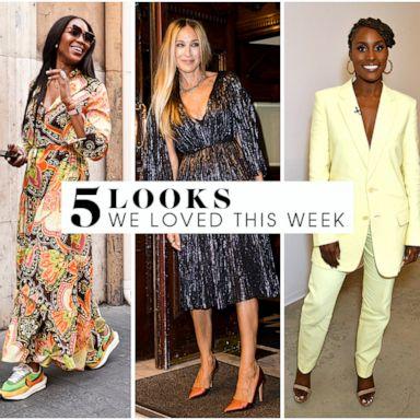 5 looks we love this week: Sarah Jessica Parker, Issa Rae, Nicole