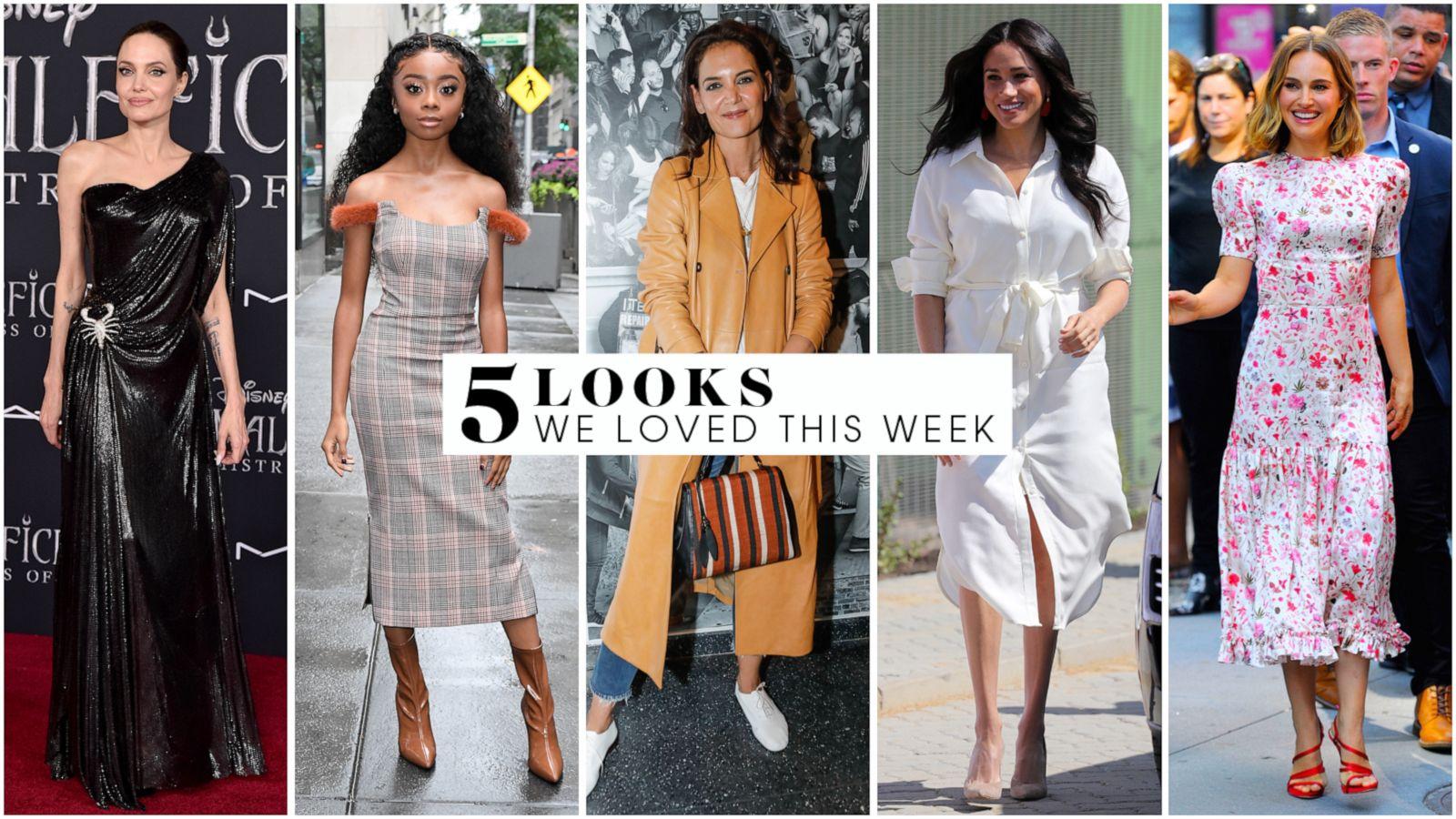5 Looks We Love This Week Duchess Meghan Angelina Jolie