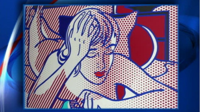 VIDEO: Police investigate theft of Warhol and Lichtenstein artwork from a NYC home.