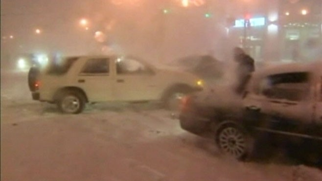 VIDEO: A recap of the weekend storm that blanketed the Northeast.