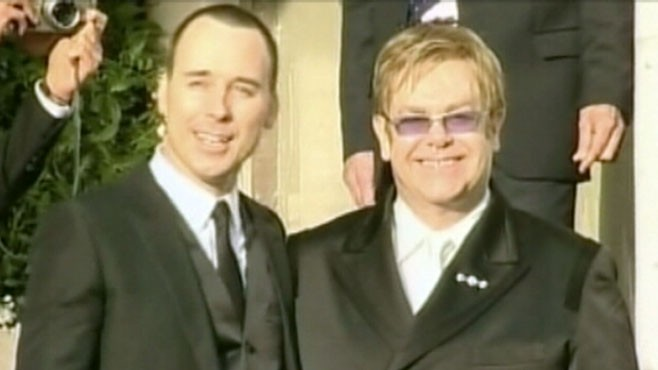 VIDEO: Elton John and husband David Furnish become parents to a baby boy.