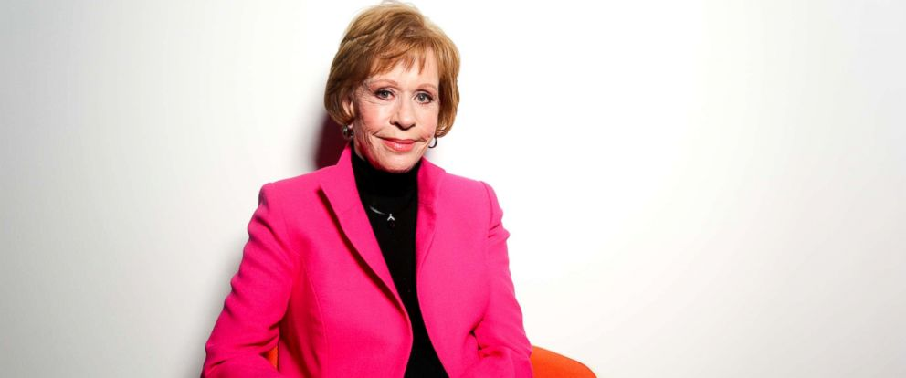 PHOTO: Carol Burnett poses for a portrait in Burbank, Calif., Dec. 7, 2015.
