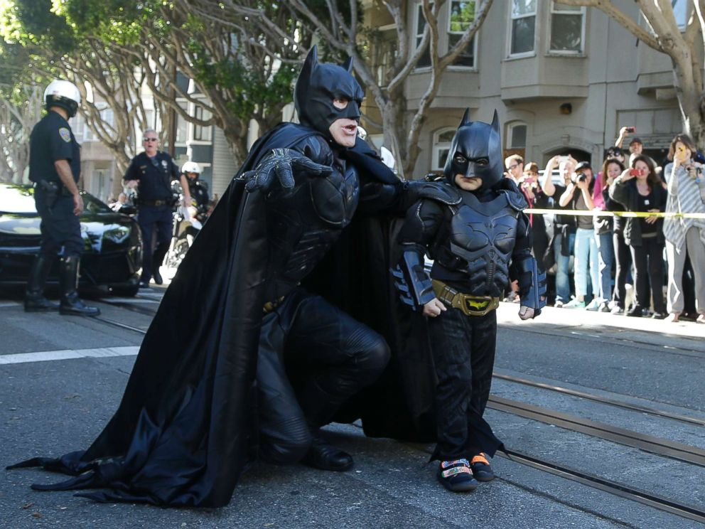 'Batkid,' now 10, cancer free 5 years after 'saving' San Francisco