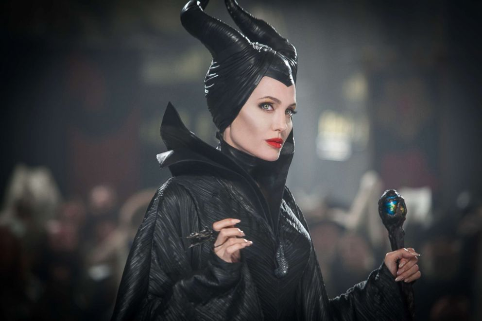 PHOTO: Angelina Jolie in a scene from Maleficent.