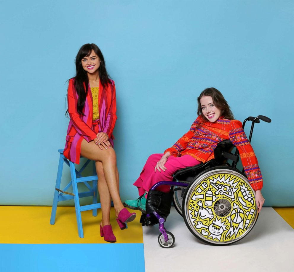 PHOTO: Ailbhe and Izzy Keane, founders of Izzy Wheels. Wheels pictured by Timothy Goodman.