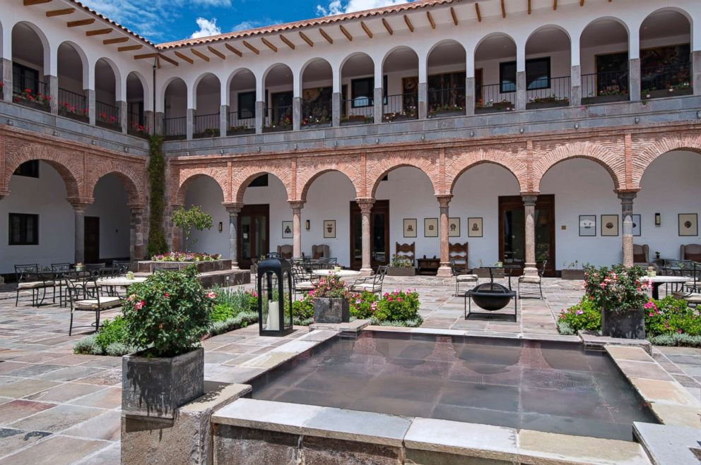 The JW Marriott El Convento Cusco in Peru.'