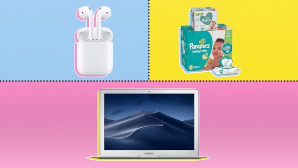 Amazon Prime Day Deals: diapers, MacBooks, AirPods and more
