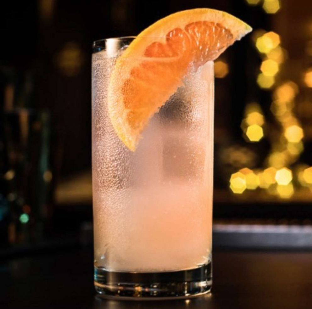 PHOTO: The Playful Paloma is a sweet grapefruit cocktail perfect for Valentines Day.