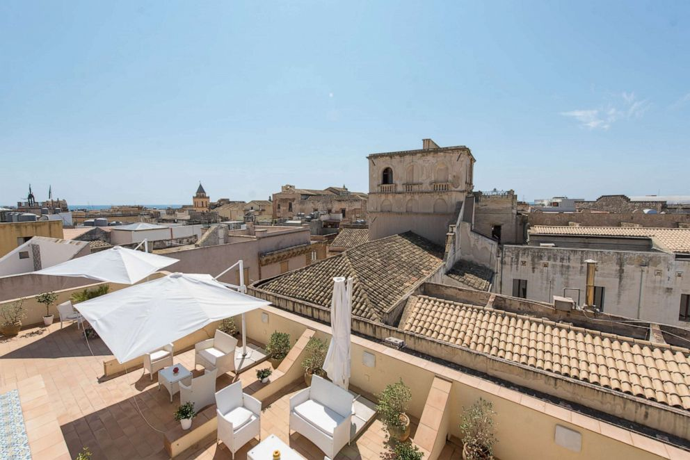 PHOTO: View from Badia Nuova Residence in Trapani.