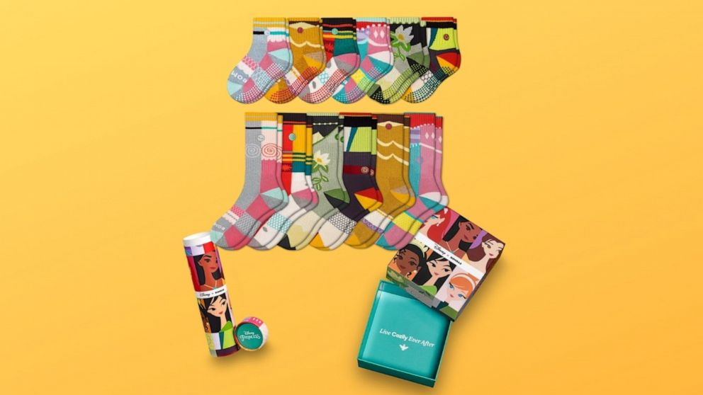 Disney x Bombas collection highlights kids helping their communities