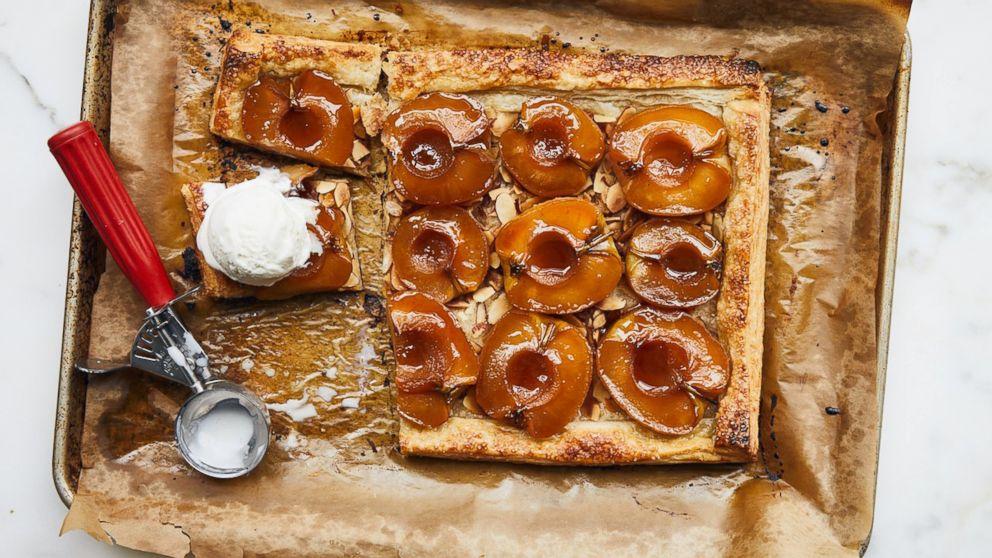 PHOTO: Bon Appétit Thanksgiving Picks: Glazed and Flaky Apple Tart