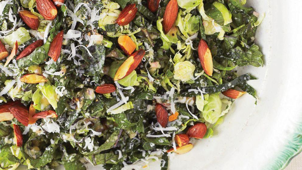 Bon Appétit's Kale and Brussels Sprout Salad.