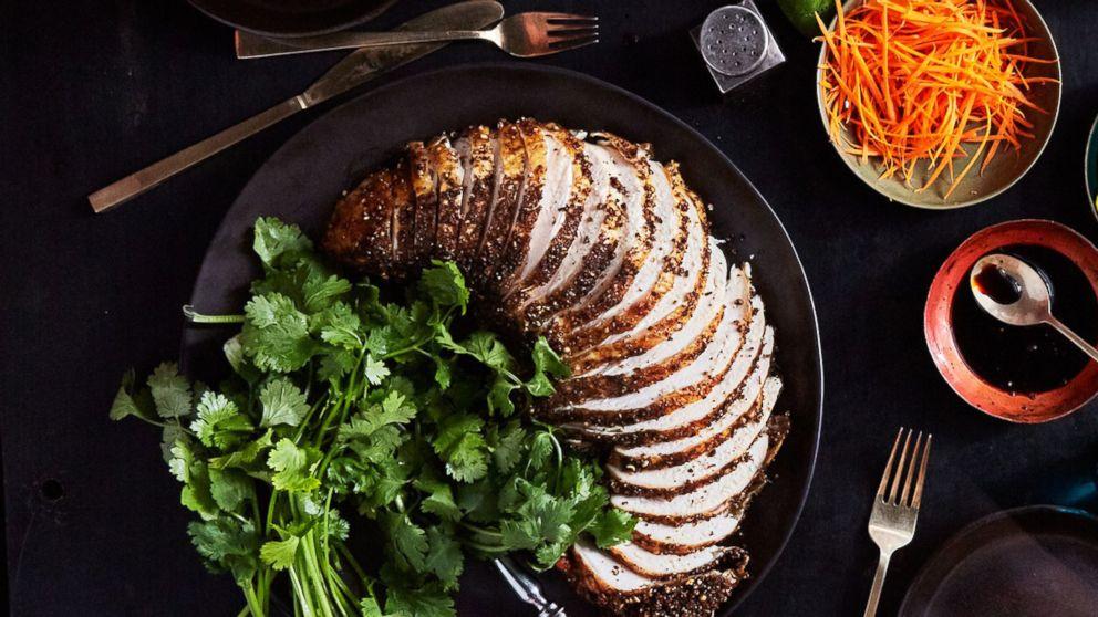 Bon Appétit Thanksgiving Dinner Pick: Pastrami-style Grilled Turkey Breast