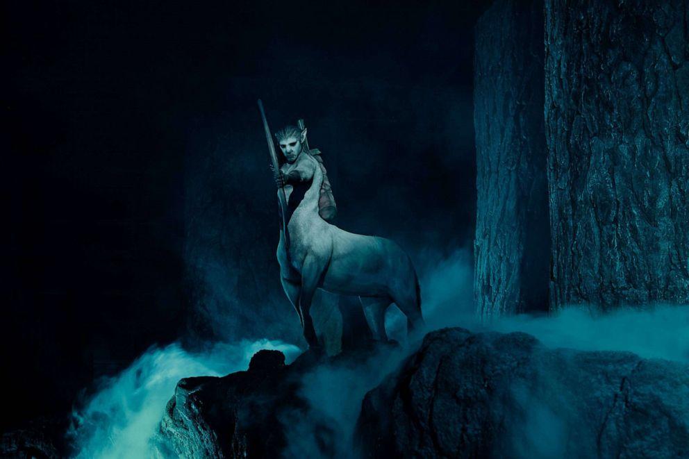 PHOTO: Centaur in Hagrids Magical Creatures Motorbike Adventure.