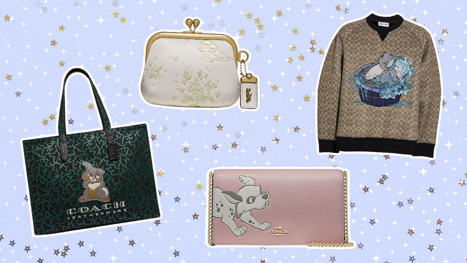Dumbo Dalmatians Oh My Disney S New Collection With Coach Is Magic Gma