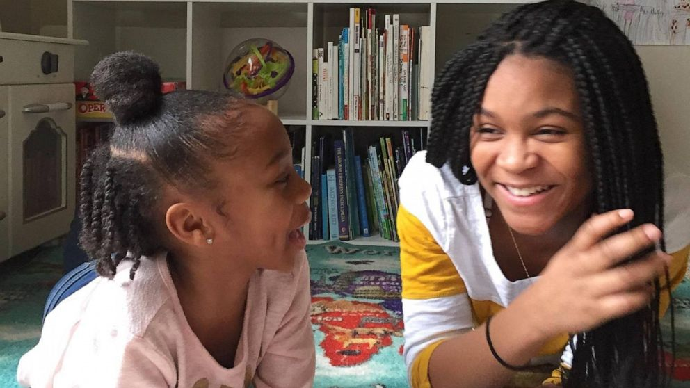 These sisters read live on Facebook so kids have a bedtime story to listen to