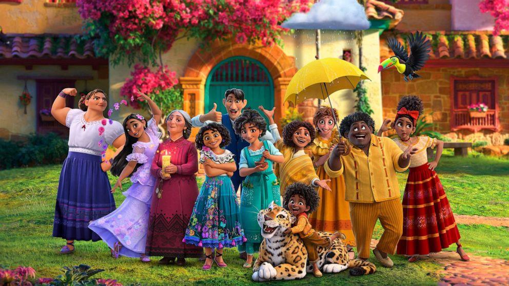"""Disney descreve personagens de """"Encanto"""""""