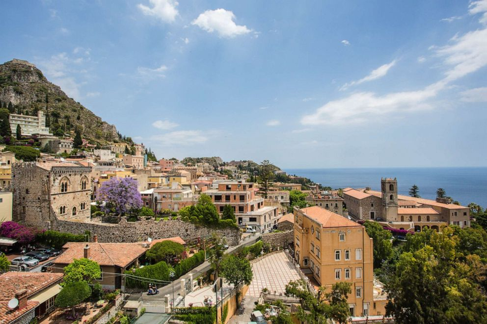 PHOTO: View From Excelsior Palace Hotel in Taormina