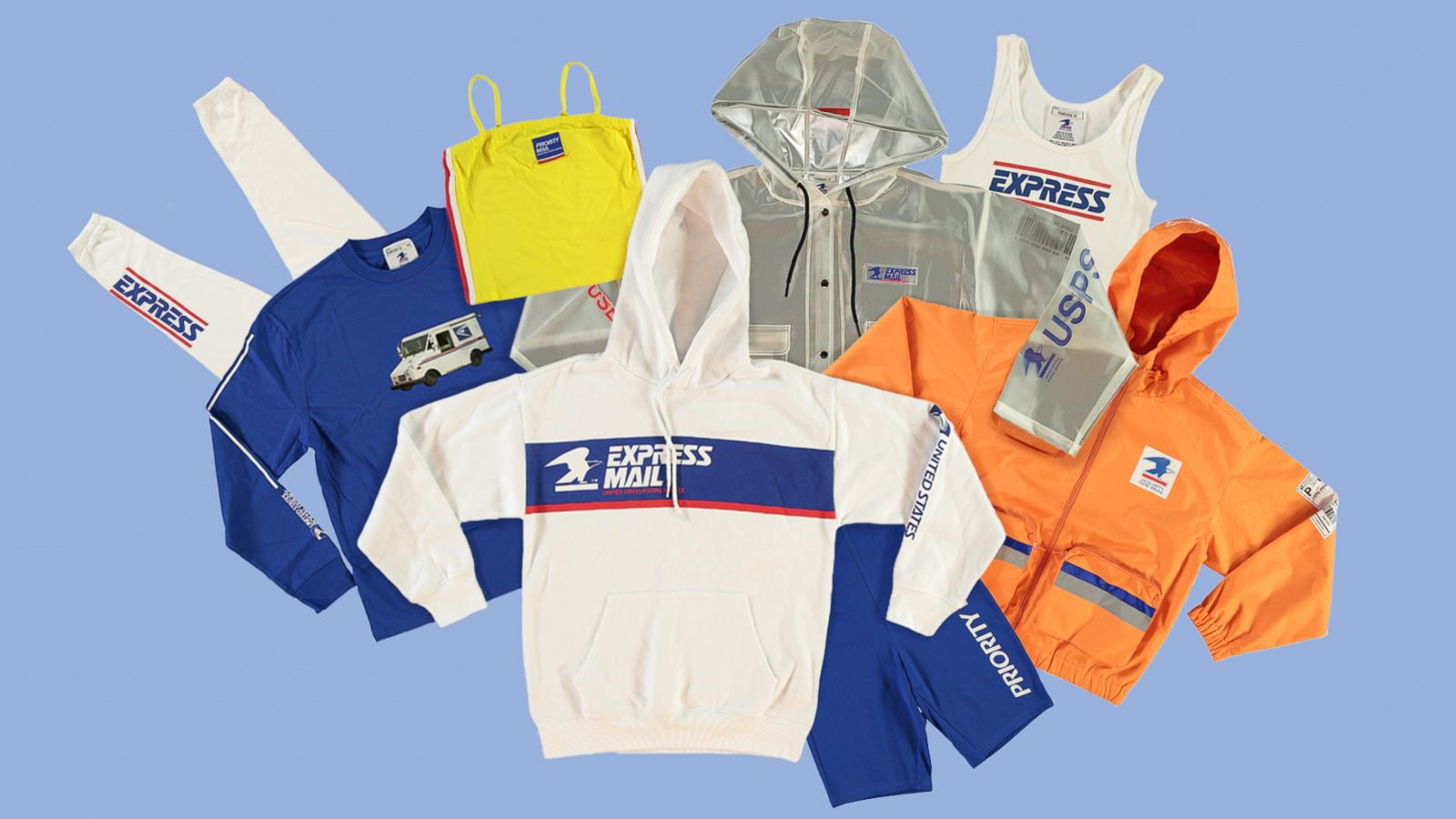 This Forever 21 X Usps Collaboration Has Us Wanting To Ship Ourselves Around The Country Gma