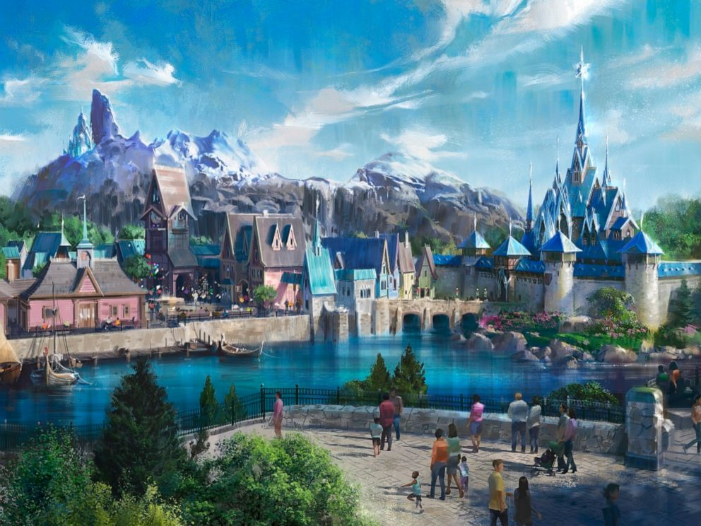 PHOTO: A new Frozen-themed land is coming to Disneyland Paris.