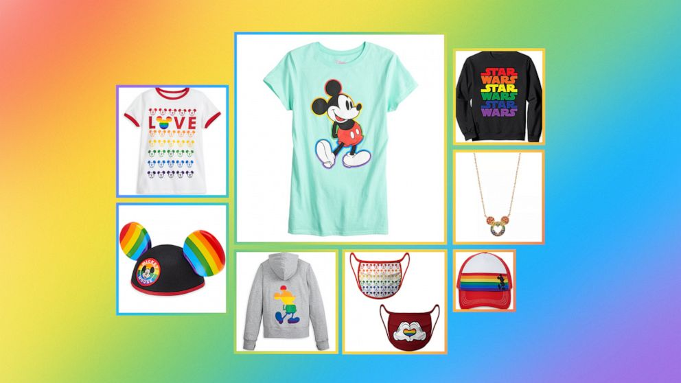 "Here We Go: Disney Unveils ""Rainbow Collection"" to Celebrate 2021 Pride Month"