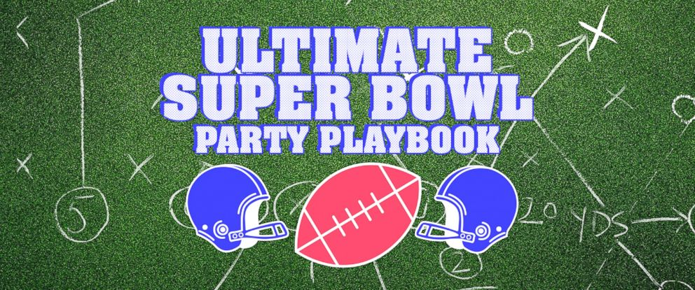 PHOTO: Ultimate Super Bowl Party Playbook