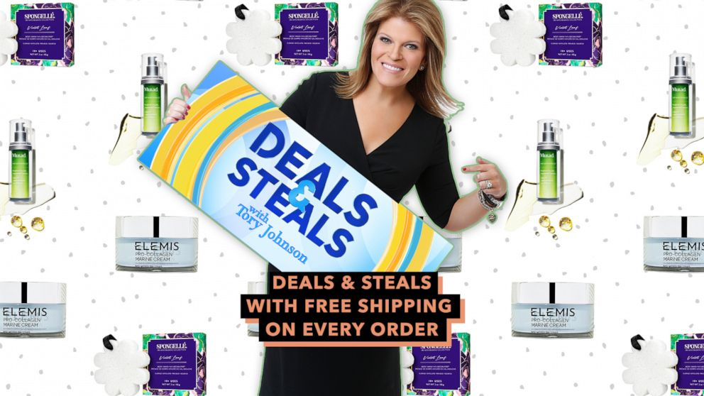 PHOTO: Deals & Steals with free shipping on every order.