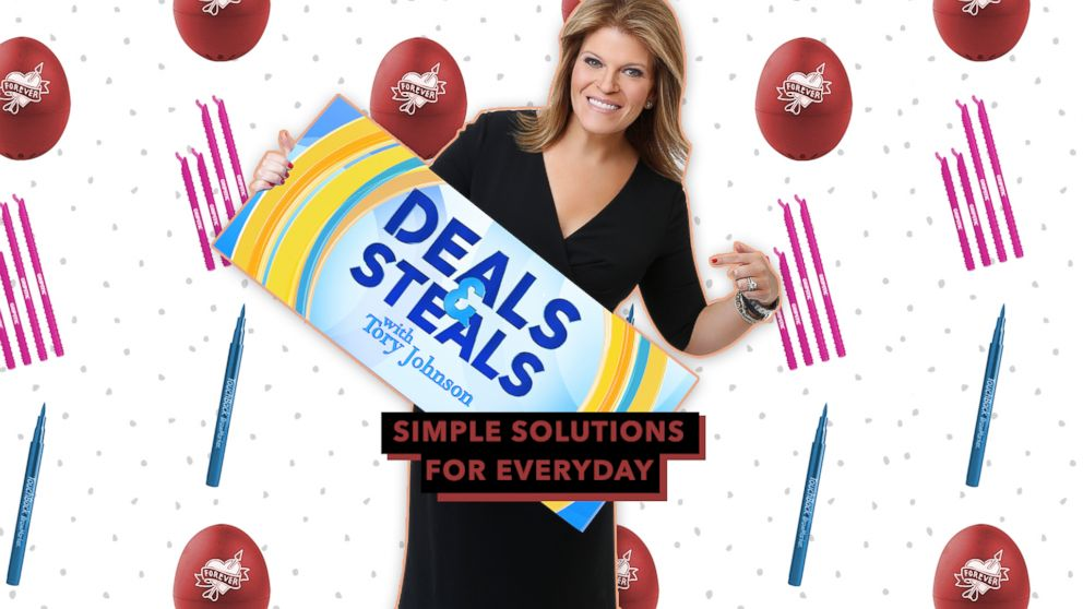 Strahan and Sara Deals and Steals on simple solutions for every day