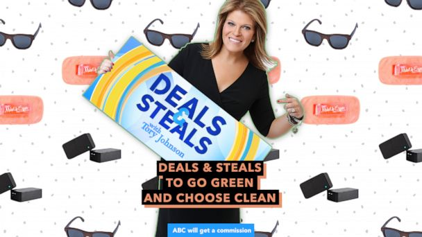 GMA' Deals and Steals to go green and choose clean   GMA