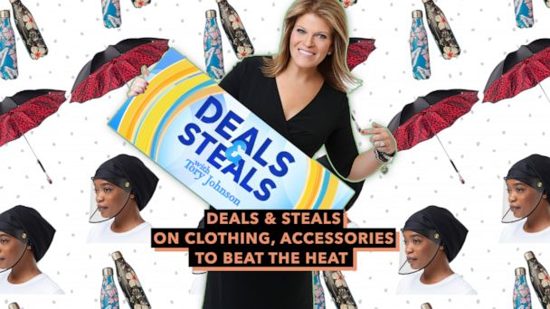 Gma Deals Steals On Clothing Accessories To Beat The Heat Gma