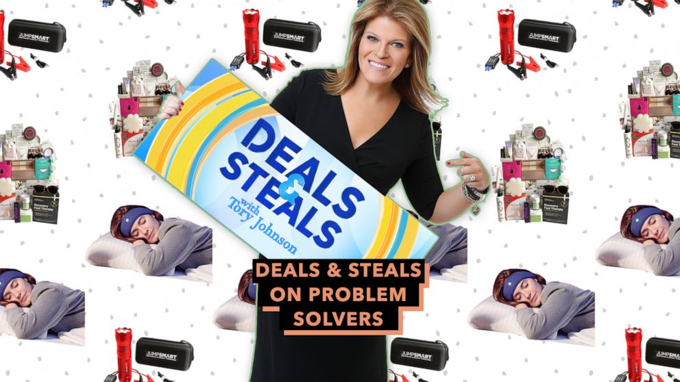 PHOTO: Deals & Steals on problem solvers