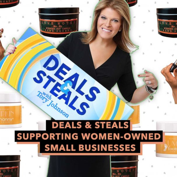 'GMA' Deals & Steals supporting women-owned small businesses
