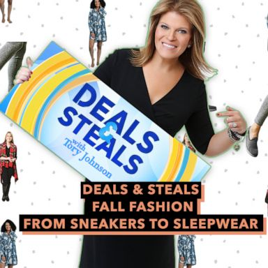Gma Deals And Steals On Fall Fashion From Sneakers To Sleepwear Gma