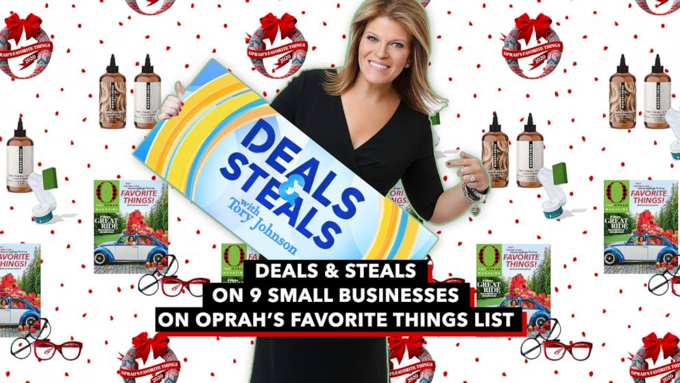 'GMA' Deals and Steals from 9 small businesses on Oprah's favorite things list