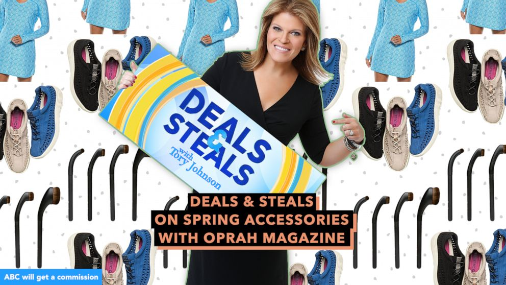 Strahan And Sara Deals And Steals On Spring Accessories With Oprah Magazine Gma