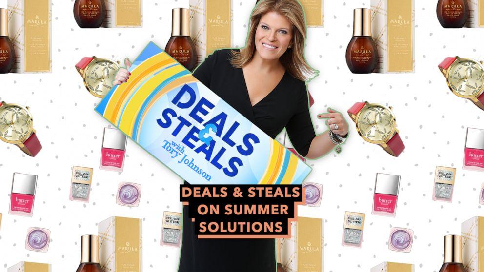Tory Johnson's summer solutions Deals & Steals