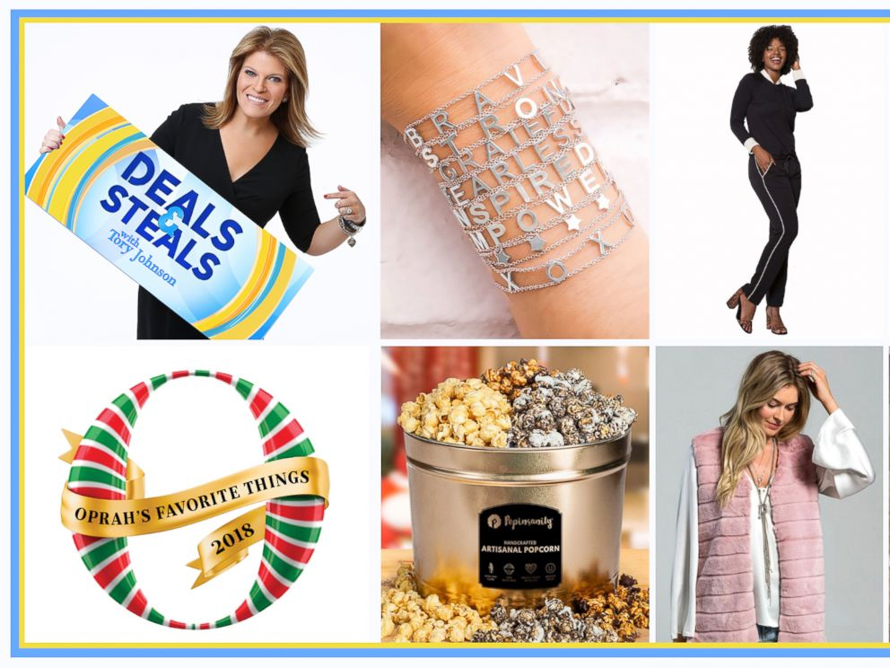 1st Look At Oprah S Favorite Things 2018 With Exclusive Gma Deals And Steals Abc News