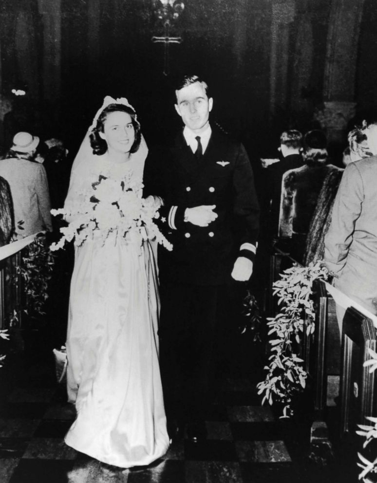 H.W. Bush and Barbara Pierce were married in the First Presbyterian Church in Rye New York